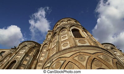 Cathedral of Monreale, Sicily - The Cathedral-Basilica of...