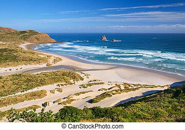 Beautiful Inviting Beach New Zealand - Beautiful Inviting...