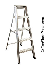 Stepladder - step ladder with clipping path