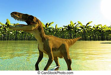 Velociraptor, el, Dinosaurio,