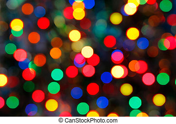 Christmas holiday background with glossy tinsel - Christmas...