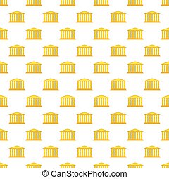 Colonnade pattern - Seamless pattern of the colonnade portal...