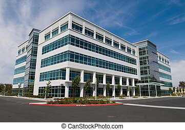 Office building - Vacant Silicon Valley office building,...