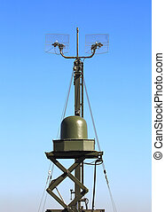 Radar station or airspace control