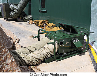 Heating system - Field heating system for the army medical...