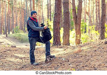 man outdoor