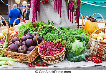 Autumn Harvest festival, thanksgiving market
