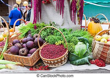 Autumn Harvest festival, thanksgiving market