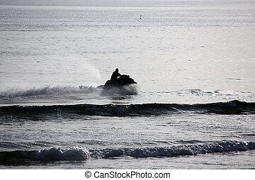 Jet ski sport