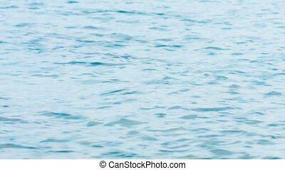 Close-up Shot of a mildly choppy Sea Surface - 1920x1080...