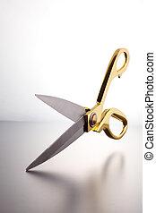 scissor - Close up a pair of scissor