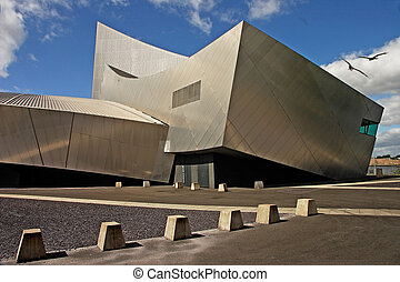 Salford War Museum - The War Museum at Salford, Manchester,...