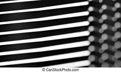 Industrial Abstract from Extreme Closeup of a Heat Sink -...