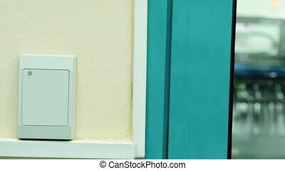 Door access control panel - Door nfc access control panel...