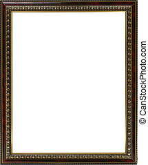 Empty frame with white inside