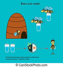 Bee infographics-2 - Bees need to use the information poster...