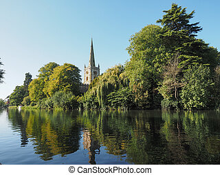 Holy Trinity church in Stratford upon Avon - Holy Trinity...