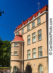 Buildings in the city centre of Helsinki - Finland