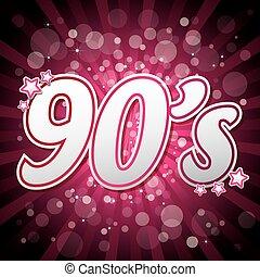 Purple 90s