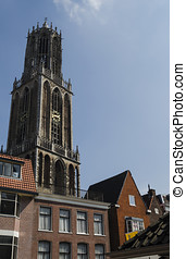 Utrecht cathedral - Utrecht city view