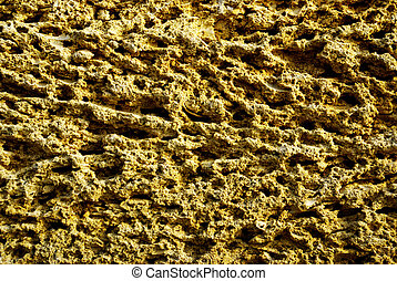 sandstone - the stone wall from sandstone