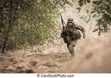 Special forces during the mission - Picture of special...