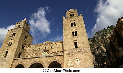 Cathedral-Basilica of Cefalu,Sicily - The Cathedral-Basilica...