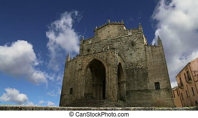 Catholic Church. Erice,Sicily - Medievel Catholic Church....