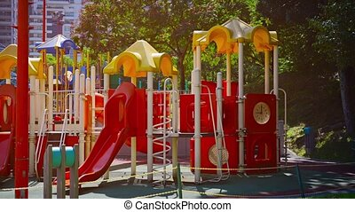 Colorful, Safe and Modern Playgrount at Kuala Lumpur City...