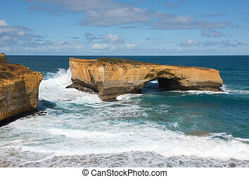 London Arch, Port Campbell National Park, Victoria,...