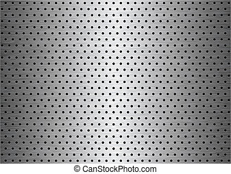 sheet metal background - Brushed sheet metal plate...