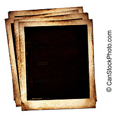 Old Polaroids film for background