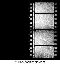 Movie Film - Old 35 mm movie Film reel
