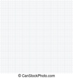 Graph grid paper vector illustration - XXL millimeter paper,...