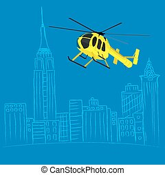 Helicopter tour concept - helicopter tour concept, sketch...