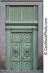 bâtiment, porte, Ancien