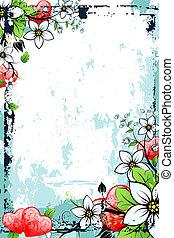 Grunge Valentine\'s Day card