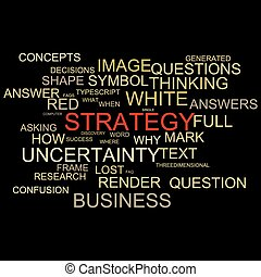 Word Cloud design with word strategy - Word Cloud for...