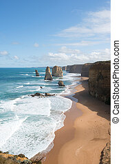 The Twelve Apostles, Port Campbell National Park, Victoria,...