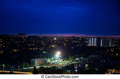 Rostov-on-Don at night