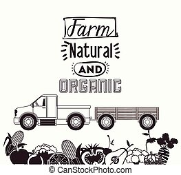 Farm Food design - Farm Food digital design, vector...
