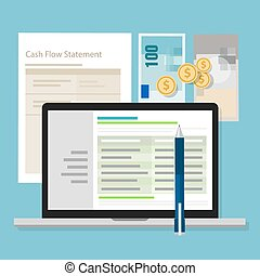 cash flow statement accounting software money calculator...