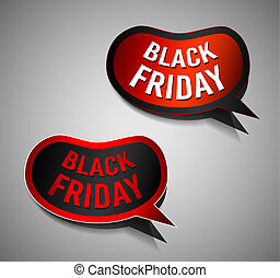 Black Friday Super Sale promotional Stick banners for your...