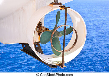 Helix Propeller - Picture of an Old Boat Helix Propeller