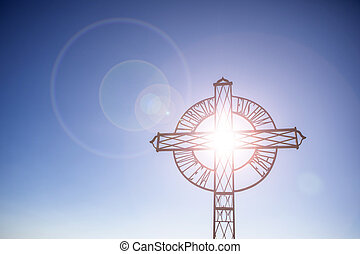 The holy cross light