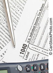 Filling federal individual tax return forms - Tax Forms