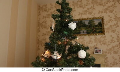 O Christmas tree - Decored Christmas tree at home