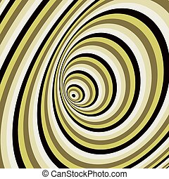 Abstract swirl background. Pattern with optical illusion. illustration.
