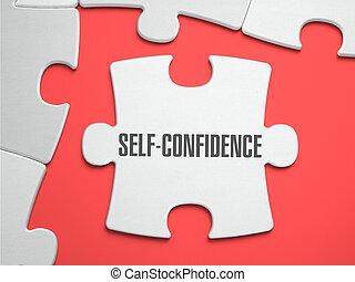 Self-Confidence - Puzzle on the Place of Missing Pieces. -...