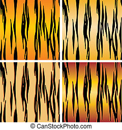 seamless tiger skin backgrounds